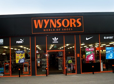 Wynsors World of Shoes, Crewe