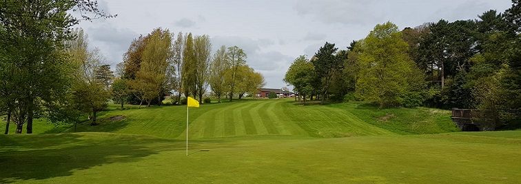Queens Park Golf Course in Crewe